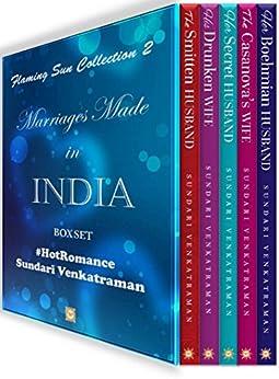 Flaming Sun Collection 2: Marriages Made in India (Box Set with 5 novellas) by [Venkatraman, Sundari]