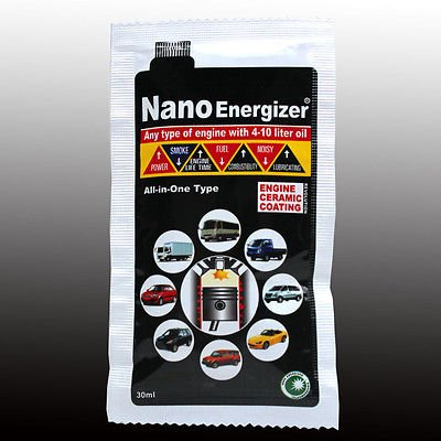 Nano Energizer, Car Engine Restoration, Ceramic coating, Protect, Power up, Fuel save