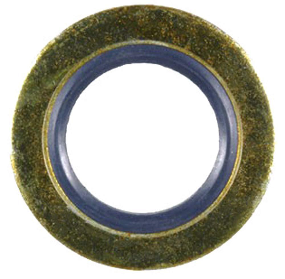 Ford Oil Drain Plug Gasket 14mm I.D. Zinc&Yellw