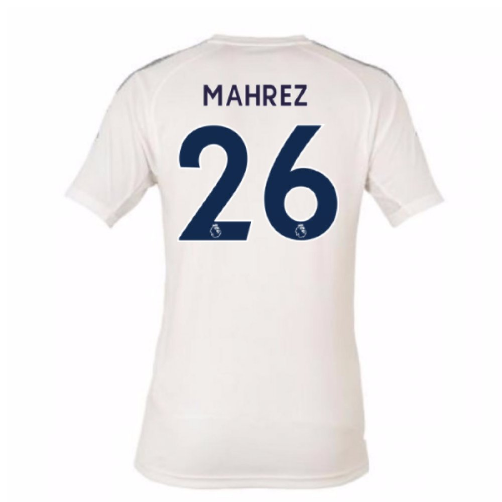2017-18 Leicester City Third Football Soccer T-Shirt Trikot (Riyad Mahrez 26)