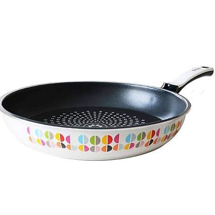 AYANGZ Sartén Aluminio Antiadherente con Tapas, Grande Chef/Freír Sartenes o Pot Durable Woks