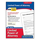 Limited Power of Attorney Forms and Instruction (Set of 288) [Set of 6]