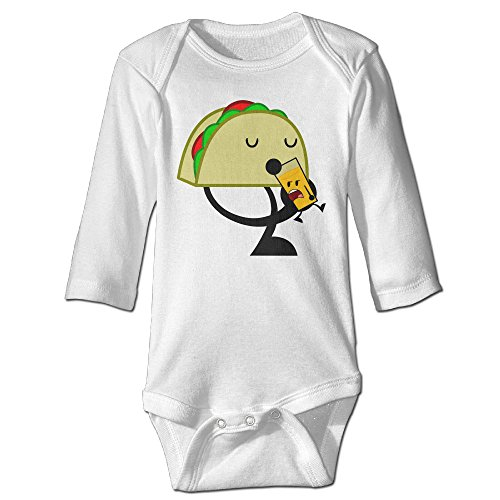 Homemade Domino Costumes - Fashion Baby Boys & Girls Taco Funny Long-sleeve Bodysuit