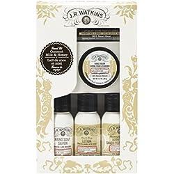 J.R. Watkins Travel Kit Set, Coconut Milk & Honey