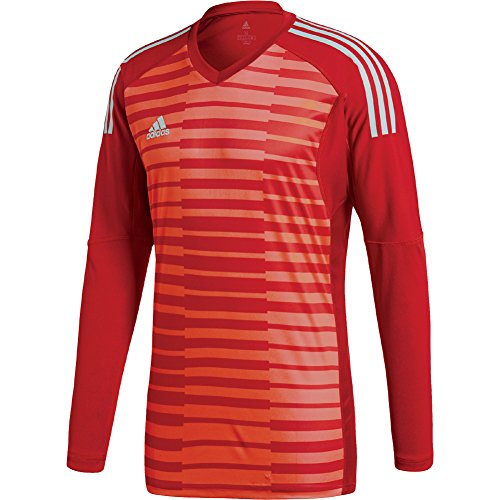 901669c2a91 Mens adidas ADIPRO 18 GoalKeeper Jersey power red/semi solar red/energy  aqua For
