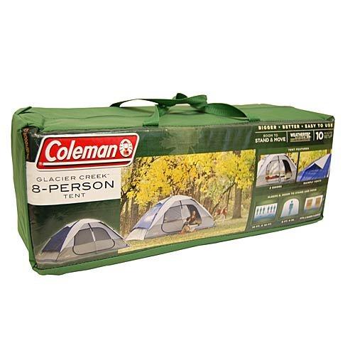 Coleman 2000006233 Glacier Creek 14' x 10' 8 Person 2 Room ...