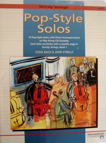 (Pop Style Solos cello)