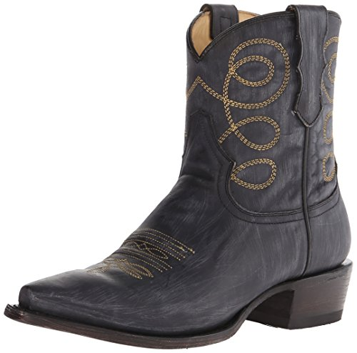 Boot Stetson Western Distressed Women's Abby Black qwqPCHt8x