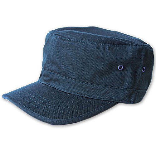 MG Enzyme Washed Cotton Twill Cap,  Navy One Size ()