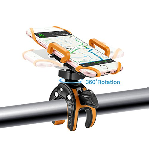 Handyhalterung Fahrrad, Forceatt Verstellbare Motorrad -Fahrrad -Halter Universell Halterung für iPhone 5S/6S/6Plus, Samsung Galaxy Note S3/S4/S5/S6