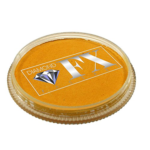 Diamond FX Essential Face Paint - Golden Yellow (30 -
