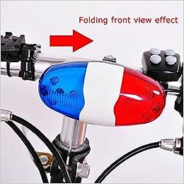 Ndier Campana Eléctrica para Bicicleta, Luces a Batería Campana de ...