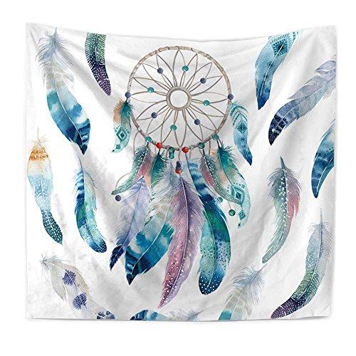 Econie Dream Catcher Tapestry Bohemian Mandala Hanging Tapestries Wall Art Decor Beach Throw Table Runner/Cloth 51
