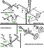 1303 ARM BUSHING - RADIUS ROD BUSH FOR LATERAL
