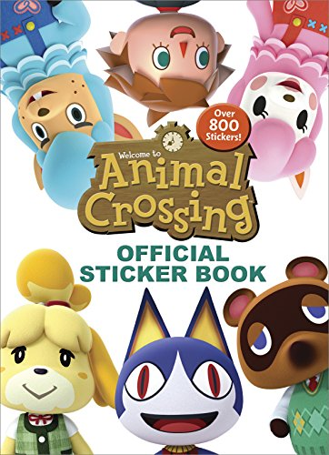 Book : Animal Crossing Official Sticker Book (nintendo) -...