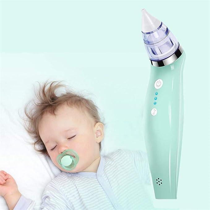 xcvbw Aspirador nasal eléctrico para bebés Dispositivo de ...