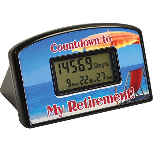Retirement Milestone Celebration Countdown Digital