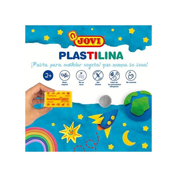 511TuS9sUCL Haz clic aquí para comprobar si este producto es compatible con tu modelo Pasta de modelar, masa que no se endurece y es de carga vegetal No se endurece al aire y se pueden mezclar colores