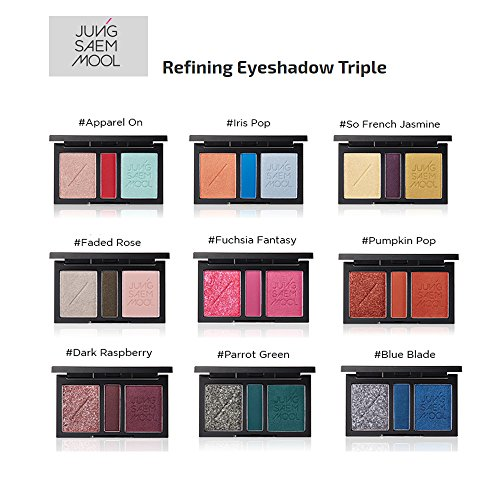 (Jungsaemmool Refining Eyeshadow Triple (Pumpkin Pop))
