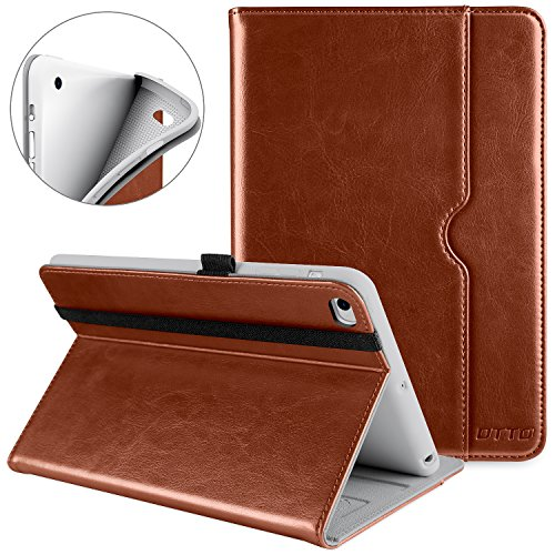 DTTO iPad Mini 4 Case, Premium Leather Folio Stand Cover Cas