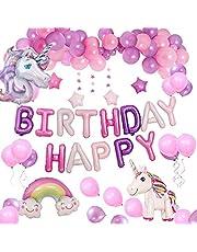 Yidaxing Kinderverjaardag decoratie ballonnen roségoud latex ballonnen 20 transparante ballonnen met roségouden confetti