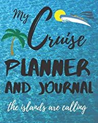 Here's a great fun and functional gift for that special friend or family member who loves to go on cruises (or for yourself)!! This is a planner and journal and logbook for your cruise all in one.This is a great notebook with pages to ...