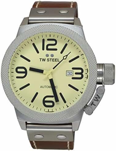 TW Steel Men's CS16 Analog Display Quartz Brown Watch by TW Steel