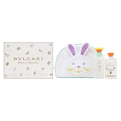 Buy Bvlgari Petits Et Mamans By Bvlgari 3 Piece Set Includes 3 4 Oz Eau De Toilette Spray 2 5 Oz Gentle Body Lotion Toiletry Pouch Online In Zimbabwe B08c1r4x8b