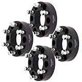 SCITOO 4X 6 Lug Wheel Spacers 1.5 inch Wheel Spacer Adapters 6x135mm to 6x135mm 14x2 Studs Compatible with 2006-2014 for Lincoln Mark LT 2004-2014 for F-ord F-150 Expedition