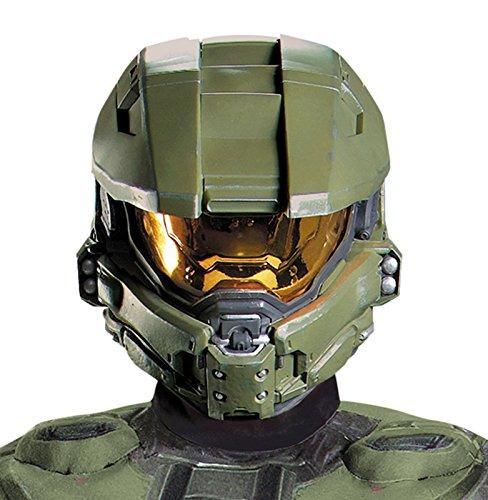 HALO Master Chief Adult Full Helmet Costume (Master Chief Halo Adult Mens Costumes)