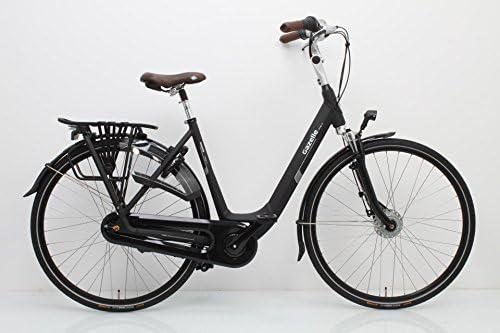 Gazelle bicicleta holandesa Naranja C7 + Mujer Negro 2018, tamaño ...