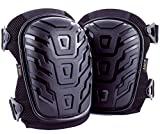 Professional Knee Pads, Comfortable Heavy Duty Foam Pads & Gel Cushion, Durable Adjustable Straps and Easy-Fix Clips Kneepds, Flex & Strong