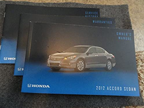 2012 honda accord sedan owners manual honda amazon com books rh amazon com 2012 honda civic owner's manual 2012 honda civic owner's manual