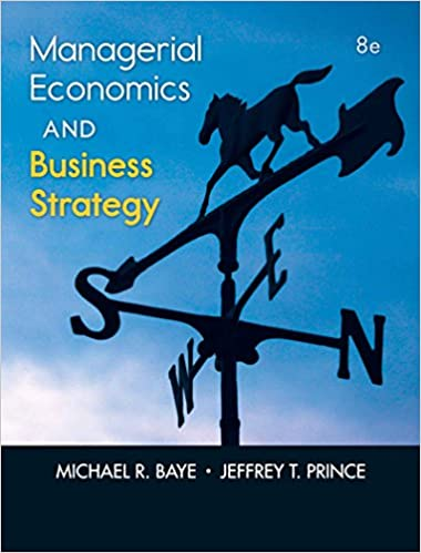AmazonCom Managerial Economics  Business Strategy Th Edition