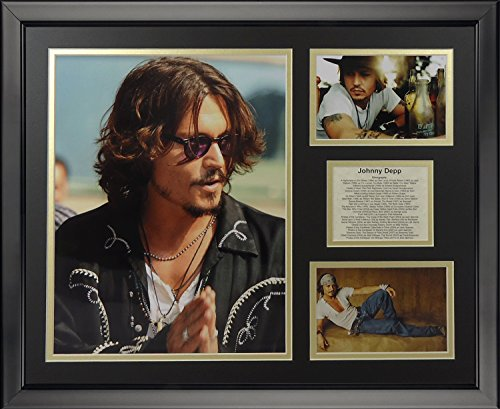 Legends Never Die Johnny Depp Framed Photo Collage, 16