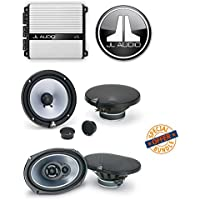 JL Audio JX400/4D 4-channel car amplifier 70 watts RMS x 4 W/ JL Audio TR650-CSi 6-1/2 Evolution TR Series 2-way Component Speakers System + JL AUDIO TR650-CXI 6.5 2 WAY CAR STEREO SPEAKERS 6 1/2