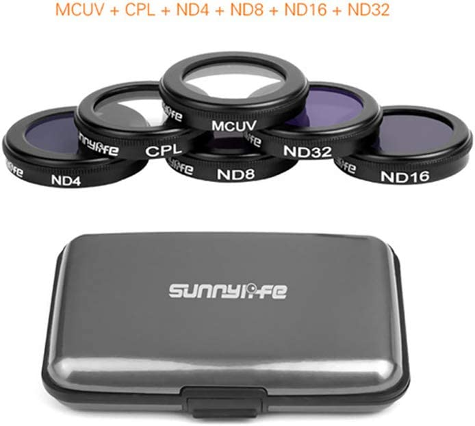 ND16 Quadcopters Lens MC UV HD Protect Camera Filter for DJI Mavic 2 Zoom CPL Polarizing Optical Glass Lenses Drone Accessories