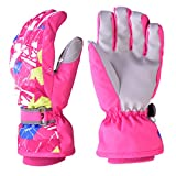 Cold Winter Gloves, Snow Ski Mitten Warm Glove for Girls & Women -...