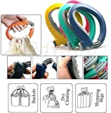 Home One Trip Grips Grocery Carrier Holder Handle Lock Shopping Bag Labor Saving Tool Kitchen Tool Gift Baskets