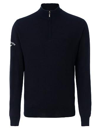 Callaway Merino 14 Zip Sweater At Amazon Mens Clothing Store