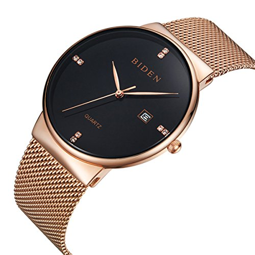 mens-dress-watches-thin-case-analog-quartz-stainless-steel-waterproof-classic-casual-milanese-mesh-b