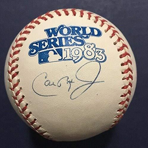 - Cal Ripken Jr Autographed Signed Official 1983 World Series Baseball #8 Holo Coa Mint Auto - Authentic Memorabilia