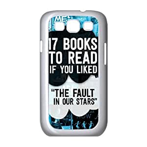 Samsung Galaxy S3 Cases 17 Books to Read if You Liked the Fault in Our Stars, the Fault in Our Stars [White]