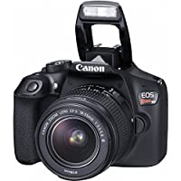 Canon EOS Rebel T6 18MP Wi-Fi DSLR Camera with 18-55mm IS II Lens + EF 75-300mm III Lens + 32GB & 16GB Card + Wide Angle Lens + Telephoto Lens + Flash + Grip + Tripod - 48GB Deluxe Accessories Bundle from The Imaging World
