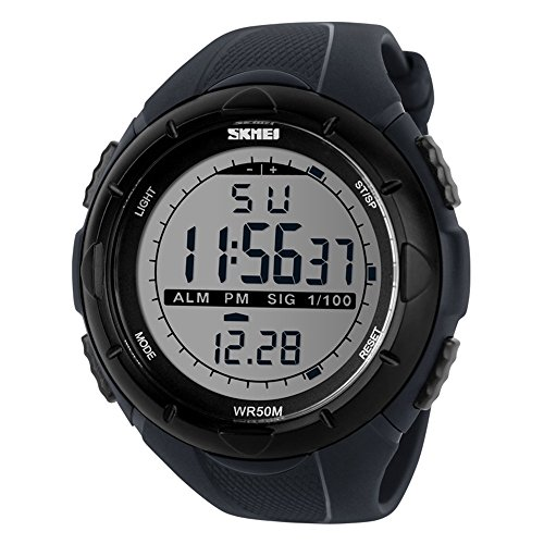 Skmei 1025 Digital Watch (gray ) - 1