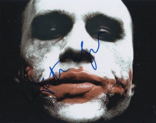 - Heath Ledger (The Dark Knight) signed 8x10 photo