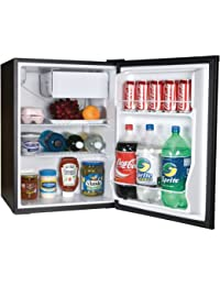 Haier ECR27B Energy-Star Refrigerator/Freezer, 2.7-Feet Cubic, Black