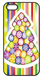 Hard Case Back Cover - Christmas Stripe iPhone 5,iPhone 5s Case