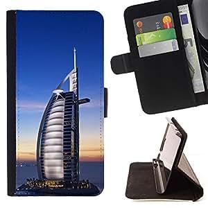 DEVIL CASE - FOR LG G3 - The Burj Dubai - Style PU Leather Case Wallet Flip Stand Flap Closure Cover