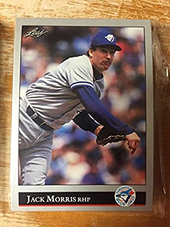 Amazoncom 1992 Leaf Series 1 2 Toronto Blue Jays Team Set Nm Mt